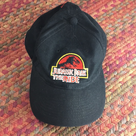 09f360f746631d VINTAGE JURASSIC PARK THE RIDE DAD HAT. M_5b890b6f81bbc87684e238a5. Other  Accessories ...